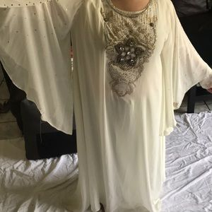 Butterfly abaya traditional dress